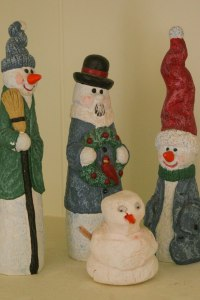 the three snowmen